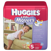 Huggies 40Ct Natural Fit Nappy Mega Pack - Size 5