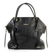 timi & leslie Charlie Convertible Nappy Bag - Black