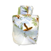 Trend Lab Hooded Towel Gift Cake in Surfs Up Print