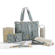 Timi and Leslie Dawn Convertible Nappy Bag - Cloud Blue