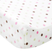 Carter's Changing Pad Cover - Pink Dot