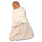 Halo Unisex Baby Sleepsack Swaddle Fleece Sleepsuits Cream 3 - 6 Months