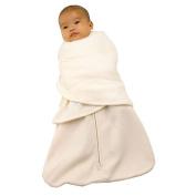 Halo SleepSack Swaddle Wearable Cotton Blanket, Cream