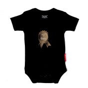 Silly Souls TT-55-6 no.1 Baby- 3-6 Month Bodysuit- Black