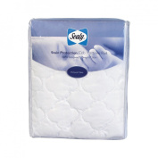 Sealy Stain Protection (TM) Crib Mattress Pad - White