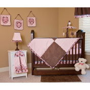 Chocolate Delight 3 Piece Twin Bedding Set
