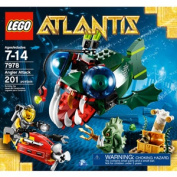 Lego angler fish attack toys buy online from for Angler fish toy