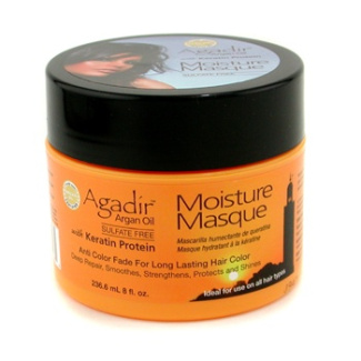 Keratin Protein Moisture Masque ( Anti Color Fade For Long Lasting Hair Color, Ideal For Use on All Hair Types ), 236.6ml/8oz