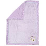 Koala Baby Plush Blanket - Lavender Butterfly