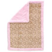 Koala Baby Full Size Blanket - Pink Leopard