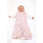 HALO  Sleepsack Wearable Fleece Blanket - Pink Pop Floral
