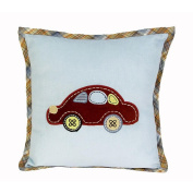 Sumersault Around the Town Decorative Pillow