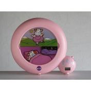 Kid'Sleep Sleep Aid Clock - Classic Pink