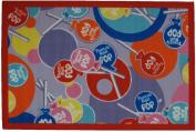 LA Rug TR-02 3958 Tootsie Roll Pop Rug - 99.1cm x 147.3cm