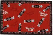 LA Rug TR-03 3958 Tootsie Roll Candy Rug - 99.1cm x 147.3cm