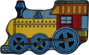 LA Rug FTS-133 3147 Fun Time Shape Train High Pile Rug - 78.7cm x 119.4cm