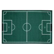 LA Rug FT-134 3958 Fun Time Collection - Soccerfield Rug - 99.1cm x 147.3cm