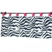 JoJo Designs Funky Zebra Collection Window Valance