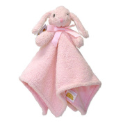 Piccolo Bambino Cuddly Pals with Soft Blanket Body - Pink Bunny