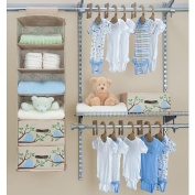 SOS by Delta Eco Start-Up Closet Set - 20-Piece - Blue