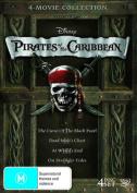 Pirates of The Caribbean Quadrilogy [Region 4]