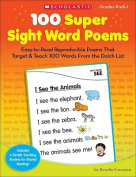 100 Super Sight Word Poems, Grades PreK-1