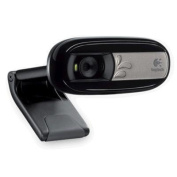 LOGITECH C170 Webcam VGA Clear video calls 1.3-megapixel photos Built-in mic Universal clip