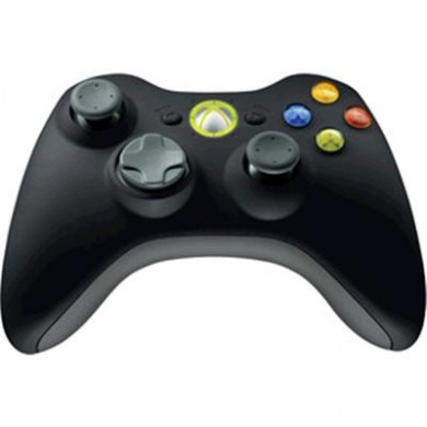 MS Wireless Xbox Controller Black