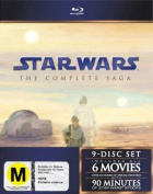 Star Wars: The Complete Saga [Region B] [Blu-ray]