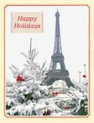 Parisian Winter Boxed Draw Holiday Notecards