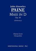 Mass in D, Op. 10 - Chorus Score [LAT]
