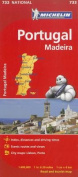 Michelin Portugal, Madeira Road and Tourist Map