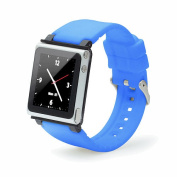iWatchz Q Collection Wrist Strap for iPod Nano 6G - Blue