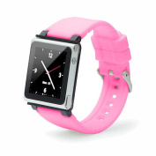 iWatchz Q Collection Wrist Strap for iPod Nano 6G - Pink