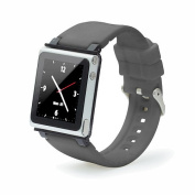 iWatchz Q Collection Wrist Strap for iPod Nano 6G - Gray