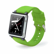 iWatchz Q Collection Wrist Strap for iPod Nano 6G - Green
