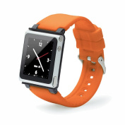 iWatchz Q Collection Wrist Strap for iPod Nano 6G - Orange