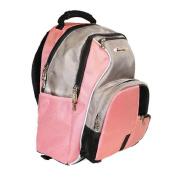 iSafe Built-in Alarm School Backpack - Pink