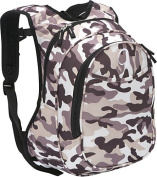 O3 Kids Pre-School Camo Backpack with Integrated Lunch Cooler