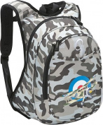 O3 Kids Pre-School Plane Backpack with Integrated Lunch Cooler