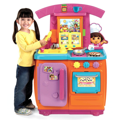 Fisher-Price Dora Fiesta Favourites Kitchen Playset