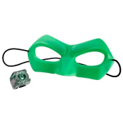 Green Lantern Mask and Light Up Ring