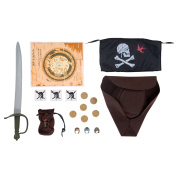 Pirates of the Caribbean 4 Jack Sparrow Dress Up Set
