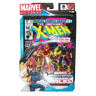 Marvel Universe Comic Packs: Cyclops & Dark Phoenix #136