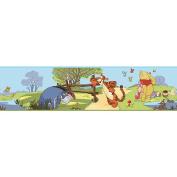RoomMates Winnie the Pooh - Pooh & Friends Peel & Stick Border