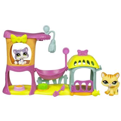 littlest pet shop meow manor by hasbro shop online for. Black Bedroom Furniture Sets. Home Design Ideas
