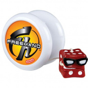Duncan Free Hand Yo-Yo with Trick CD - White