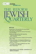 Ccar Journal, the Reform Jewish Quarterly Spring 2011