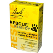 Bach 0410167 Flower Remedies Rescue Remedy Stress Relief For Pets - 10 mL