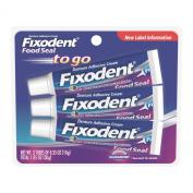 Fixodent Denture Adhesive Cream, 3 - 10ml  tubes
